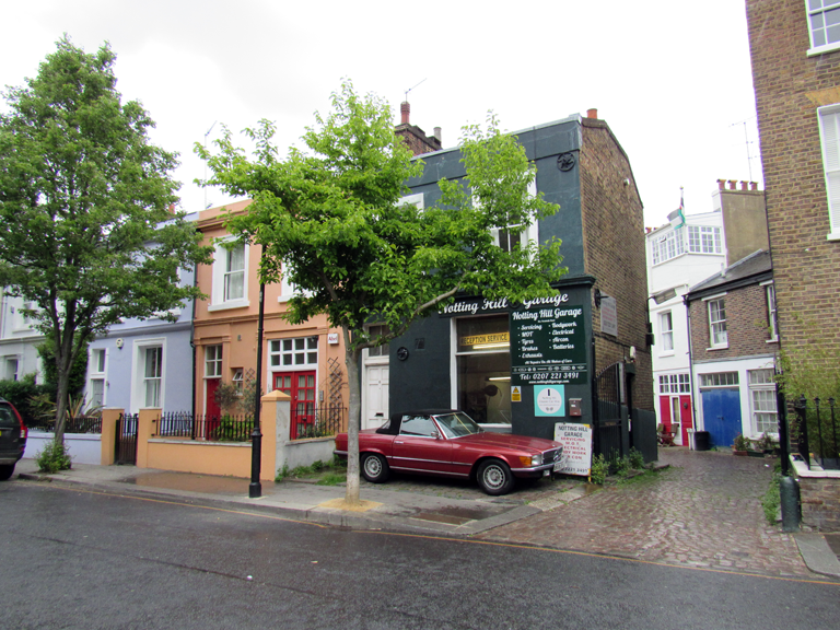 Notting Hill Impressionen.